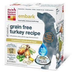 The Honest Kitchen Human Grade Dehydrated Grain Free Dog Food * Wow! I love this. Check it out now! (This is an amazon affiliate link. I may earn commission from it)