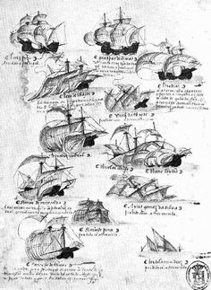 #Spanish Ships, Parts and Wrecks for Kids