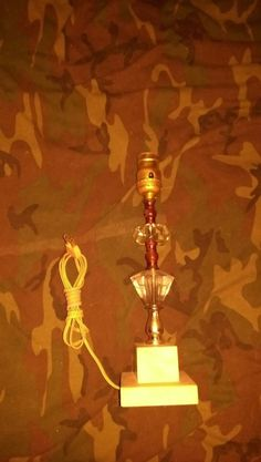 VTG. TABLE LAMP.works,marble base,glass,DECOR,rare,good cond,must see Lamps For Sale, Unique Gifts, Marble, Table Lamp, Base, Lighting, Home Decor, Table Lamps, Decoration Home