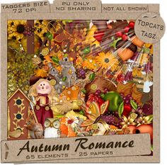 TopcatsTagz: Autumn Romance Taggers Kit Freebie