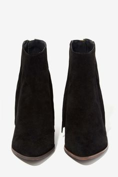 Steve Madden Country Suede Fringe Bootie