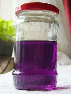 Sirup z divokých fialek