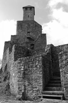 Grimburg - an old castle in Germany. Black and white photography from Photography Talk. For more photography, visit our site: http://www.photographytalk.com/