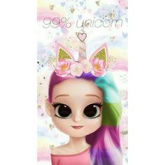 Unicorn stickers on Viber Kawaii Girl Drawings, Cute Disney Drawings, Cute Girl Drawing, Girly Drawings, Cartoon Girl Drawing, Cartoon Art, Cute Girl Wallpaper, Cute Disney Wallpaper, Cute Cartoon Wallpapers