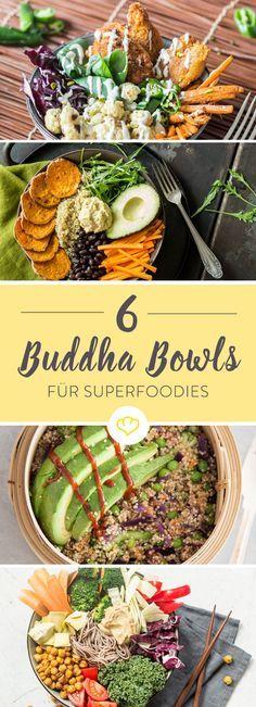 Kennst du schon den gesunden Trend aus den USA, der eine Schale voller gesunder Leckereien in den Mittelpunkt stellt? Buddha Bowls sind gesund, lassen sich flexibel an deinen Lebensstil anpassen und sehen mit ihren kunstvoll arrangierten Komponenten einfach toll aus.