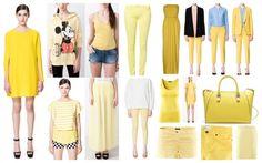 ropa amarilla versiones... ¡parece que se lleva el amarillo!