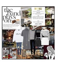 """Paris Cafe with @libzjackson @phoebzjackson @izzybizzyfizzy"" by fangirl9 ❤ liked on Polyvore featuring Retrò, Zara, Coffee Shop, T By Alexander Wang, J Brand, MANGO, River Island, Boohoo and Rodarte"
