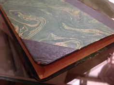 Repairs on a book restored circa 1940. As Pupillas do Senhor Reitor, Julio Diniz