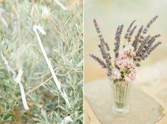 Un Mariage en Provence… entre lavande et ciel bleu Glass Vase, Plants, Decor, Provence Wedding, Blue Skies, Center Table, Lavender, Decoration, Plant