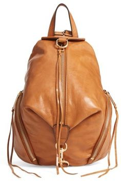 Nordstrom -  100 off - Rebecca Minkoff Medium Julian Leather Backpack -  Brown. Not too. Purses ... a34e70bb630bc