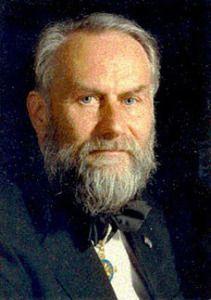 Der renommierte Physiker Hermann Haken, geb. 12. Juli 1927 in Leipzig, gilt als Pionier der Laserforschung und Begründer der Synergetik. Seine Erkenntnisse waren für viele Wissenschaftsgebiete grundlegend und machten ihn weit über Fachkreise hinaus bekannt. 1990 wurde Hermann Haken mit der Max-Planck-Medaille der Deutschen Physikalischen Gesellschaft ausgezeichnet. Hermann Haken studierte Mathematik und Physik in Halle und Erlangen.
