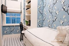 "Even a ""maid's Rooms"" in prewar NYC apartment made cutest ever by Christina Murphy  Interior ideas from Christina Murphy Interiors"