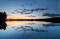 All sizes | Midsummer cloud reflection | Flickr - Photo Sharing! Rob Orthen. Finland