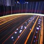 Don Pettit, astronaute à bord de la station spatiale internationale, a pris une succession de photos à longues expositions des trainées d'étoiles qu'il a pu observer. Le résultat est saisissant.