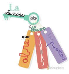 """""""La educación es la llave que abre todas las puertas"""" Human Bean, Math For Kids, Too Cool For School, Teaching Spanish, Thoughts And Feelings, How To Stay Motivated, Happy Day, Cool Words, Positive Quotes"""