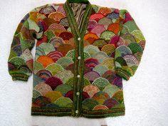 Ravelry: Pipapo's Modular Long Jacket  Horst Schulz inspiration