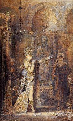 Salome Dancing - Gustave Moreau 1886
