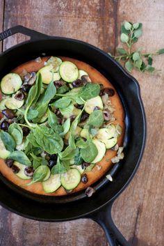 Socca Vegetable Flatbread & Memories of Nice   VeguKate