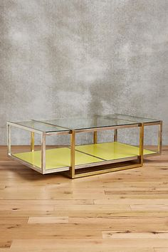 Floating Lacquered Coffee Table - anthropologie.com