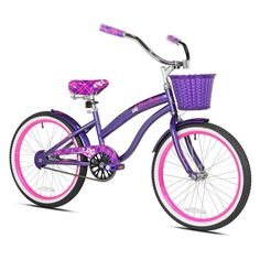 25885eeb97b4 Kent 20 in. Tiki Bay Girls Bike - 62085 Bmx Cruiser