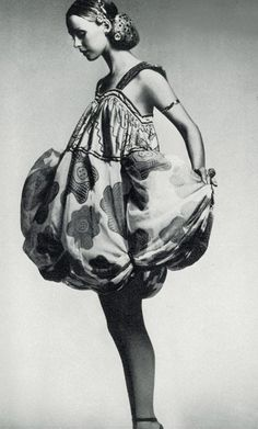 Photo by Clive Arrowsmith, UK Vogue, 1971