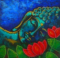 GOANG Buddha lotus Rhinestone painting crystal Home Decor DIY Diamond painting cross stitch diamond embroidery religion Lotus Buddha, Art Buddha, Buddha Zen, Buddha Painting, Buddha Buddhism, Buddhist Art, Spiritual Paintings, Little Buddha, Garden Painting