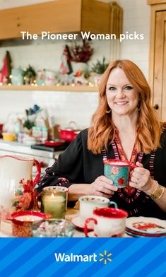 Pioneer Woman Dishes, Pioneer Woman Kitchen, Pioneer Woman Recipes, Pioneer Women, Walmart Home, Cookie Recipes, Dessert Recipes, Fall Dishes, Ree Drummond