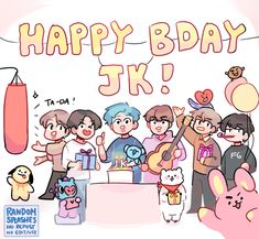 Bts Birthdays, Happy 21st Birthday, Bts Aesthetic Pictures, American Music Awards, Bts Drawings, Bts Chibi, About Bts, Aesthetic Stickers, Moon Child