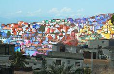 haas&hahn campaign to paint an entire favela in rio de janeiro