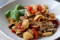 Pasta Avanzi dal Frigo - Weil Reste aus dem Kühlschrank einfach nicht so lecker klingt... Aber unglaublich lecker schmeckt! Probiert diese Pasta unbedingt!