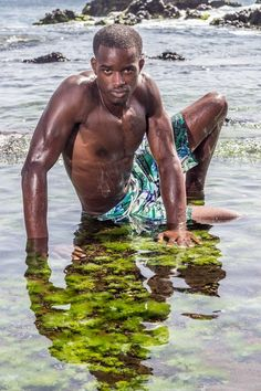 Hot Shots: To Gomes Models Hit The Cape Verdean Beaches | FashionGHANA.com: 100% African Fashion Model: Patrick Borges