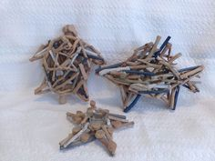 New, Beachcombers Driftwood Sea Turtle, Tropical Fish And Starfish Tea Light Candle Holder. View pictures for details.   eBay!