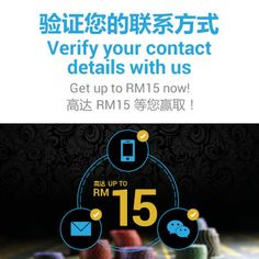 All iBET Online Casino Malaysia members verify you email, cell phone and wechat in iBET malaysia online casino you can earn up to RM 15 for FREE! Free Casino Slot Games, Play Free Slots, Casino Promotion, Free Credit, How To Apply, How To Get, Online Gambling, Live Casino, Free In