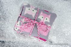 Adorable Flannel Hand Warmers and Cold Packs Too! By: NotSoIdleHands.com