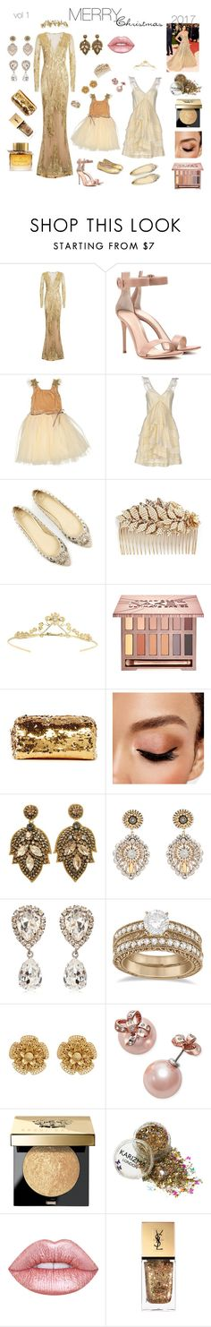 Merry Christmas 2017 -1 by ludakryzhanovskaya on Polyvore featuring мода, Mikael D, Étoile Isabel Marant, Gianvito Rossi, Miguel Ases, Kate Spade, Dolce&Gabbana, Miriam Haskell, Allurez and Miss Selfridge