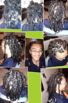 dread starting and grooming