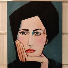 Lazy Sunday, Diy, Painting, Women, Bricolage, Painting Art, Do It Yourself, Paintings, Painted Canvas