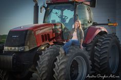 My senior pictures, farmers daughter style Country Senior Pictures, Farmer's Daughter, Graduation Pictures, Senior Girls, Farmers, Picture Ideas, Tractors, Photography Ideas, Poses