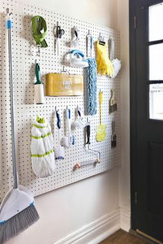 Pegboard is a great organization tool. It's inexpensive, extremely versatile, and easy to install. No longer reserved for storing tools hidden away in the garage, pegboard is being used in beautiful …