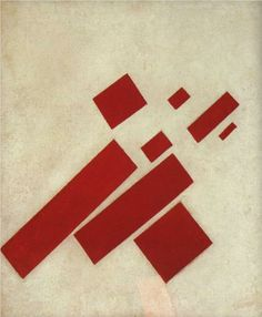 Kazimir Malevich, Eight Red Rectangles
