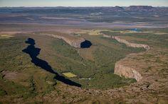 Nature - Asbyrgi Canyon, Iceland - World's Strangest Natural Wonders #InspiredTraveller #travel
