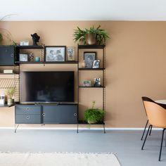 Workspace Design, Home Office Design, Beautiful Interiors, Colorful Interiors, Room Design Bedroom, Room Wall Colors, Swedish Design, Deco Design, Interior Inspiration