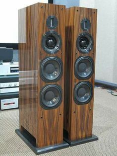 ProAc Carbon Pro 8 speakers Audiophile Speakers, Speaker Amplifier, Hifi Audio, Speaker System, Big Speakers, Monitor Speakers, Home Speakers, High End Hifi, High End Audio