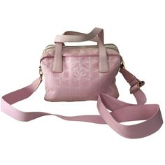Pre-owned Chanel 100% Authentic Chanel Baby Pink... (540 AUD) ❤ liked on Polyvore featuring pink