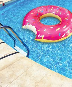 Take a look at this The Gigantic Donut Pool Float on zulily today!