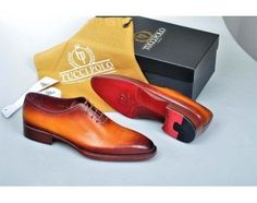 2018 Special Edition TucciPolo Burnished Tan Wholecut Prestigiously Handcrafted Luxury Goodyear Welted Oxford Italian Leather Mens Shoes, offering superior comfort and exquisite design. Shop now Italian Leather Shoes, Italian Shoes, Mens Luxury Belts, Custom Made Shoes, Luxury Shoes, Luxury Dress, Mens Designer Shoes, Handmade Leather Shoes, How To Make Shoes