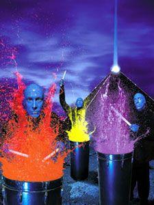 Blue Man Group - Las Vegas Shows and Show Tickets #Vegas Bucket List