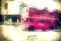 Bus in San Martin de los Andes