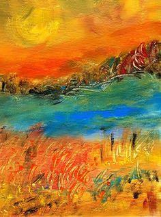 'Sonnenwind' von claudiag bei artflakes.com als Poster oder Kunstdruck $16.99