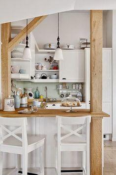 Um pequeno loft em estilo provençal